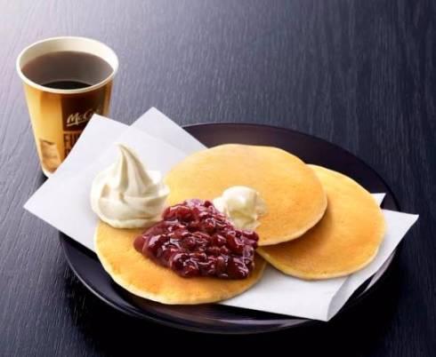 【愛知県限定】小倉ソフトホットケーキ期間限定