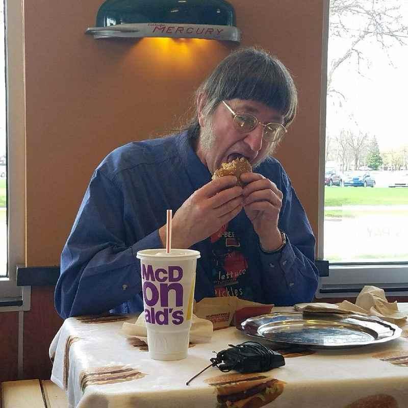 ビックマックを世界一食べている男性 ドン・ゴースク