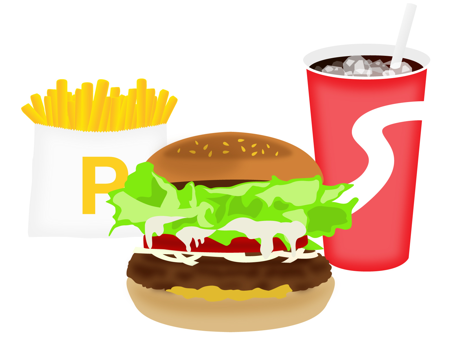 【悲報】ハンバーガー×コーラに匹敵する日本料理が存在しない