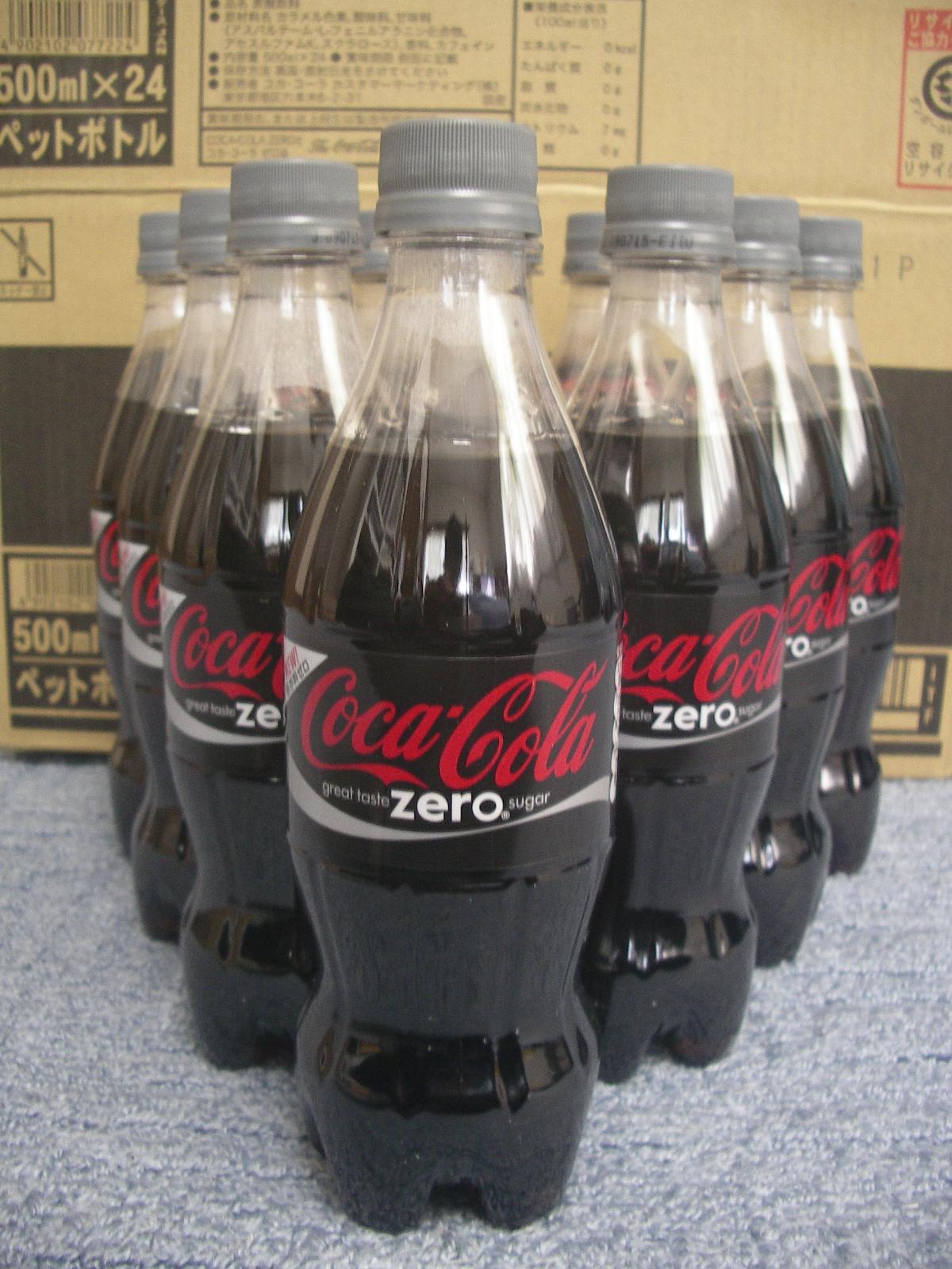 コカコーラ・ゼロってどこに需要あるの?