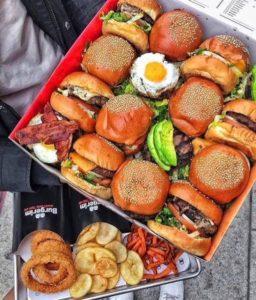 マイクロハンバーガー弁当、アメリカで大流行