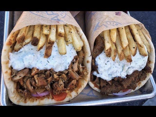 ギリシャのサンドイッチ